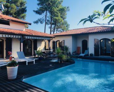 maison avec piscine à Andernos